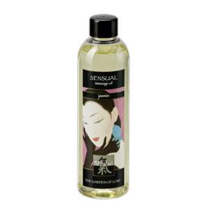 Shiatsu sensual massageoil jasmin