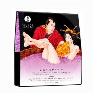 shunga lovebath sensual lotus
